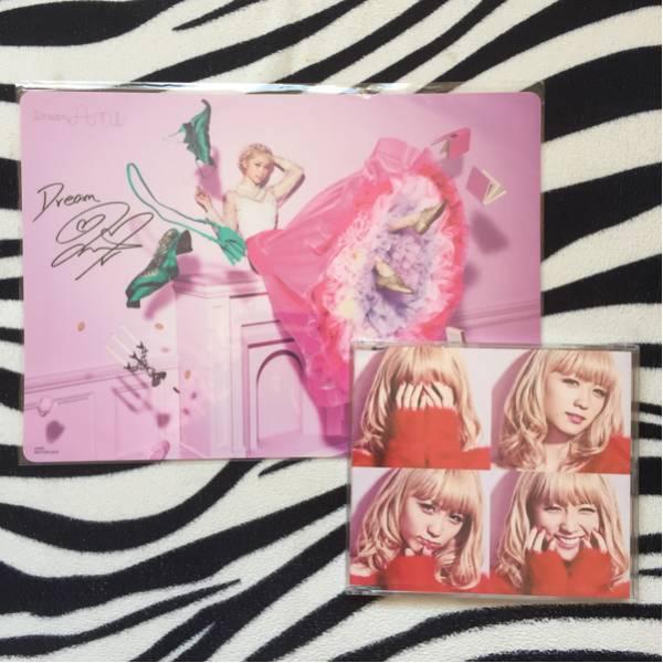 E-girls Dream Ami バクステ 下敷き サイン入り ワンコイン