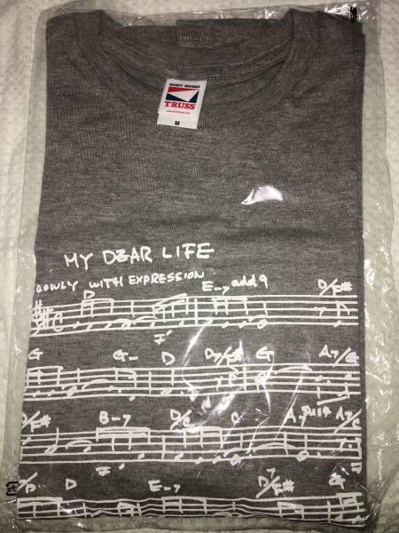 渡辺貞夫 60周年記念 Tシャツ 新品未開封 Mサイズ グレー