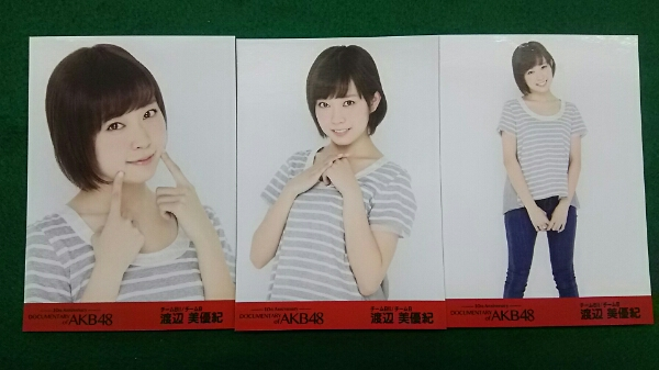 documentary of AKB48 渡辺美優紀 前売り 生写真 コンプ A337