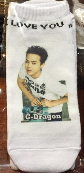 BIGBANG G-DRAGON 靴下 くつ下 B ラス1