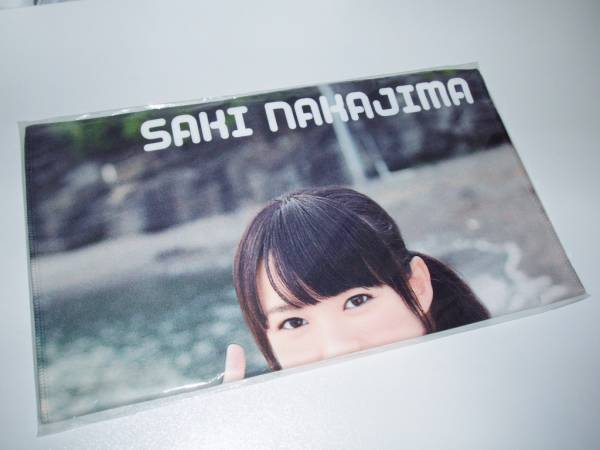 ℃-ute 中島早貴 マイクロファイバータオル a ライブグッズの画像