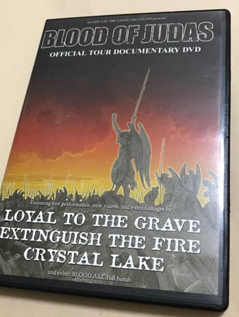 BLOOD OF JUDAS DVD state craft crystal lake ハードコア nyhc ライブグッズの画像