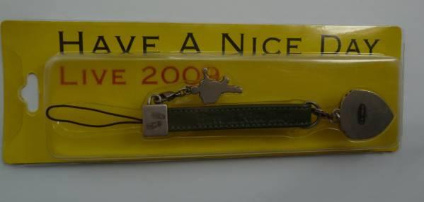 送料無料★吉田拓郎LIVE2009携帯ストラップ★Have A Nice Day
