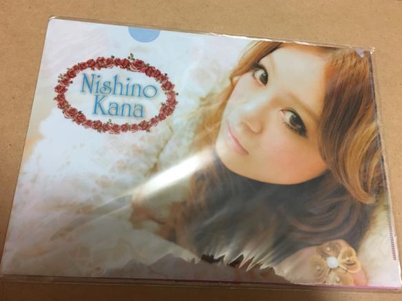 レア 新品未開封、西野カナ 2010 Kanayan Tour クリアファイル