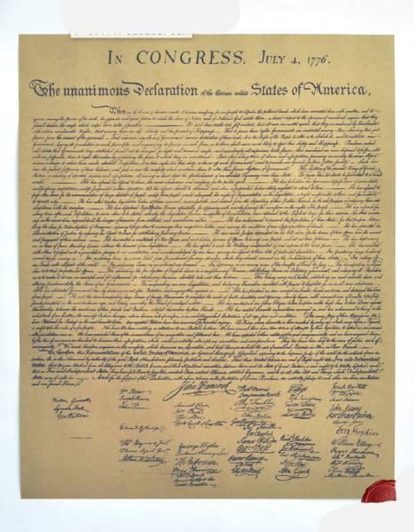 159ポスター poster 1776アメリカ独立宣言