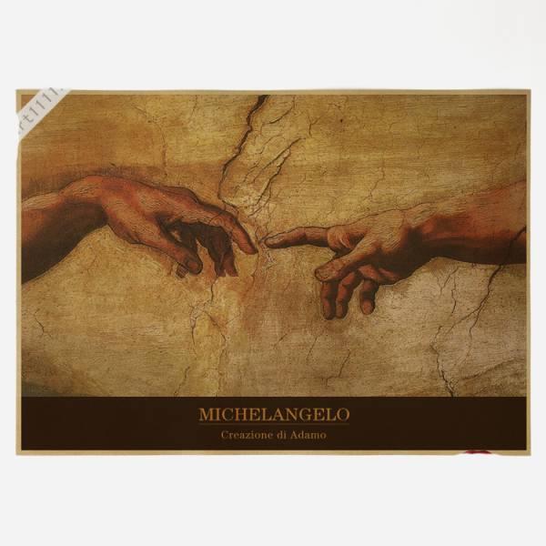 74ポスター poster ミケランジェロ・ブオナローティ