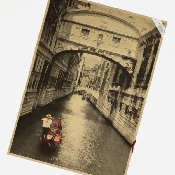 85ポスター poster ベニス ため息橋