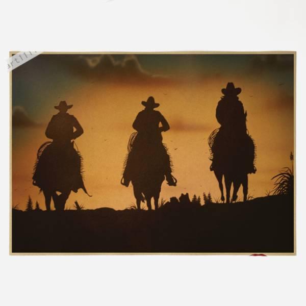 172ポスター poster 西部のカウボーイ