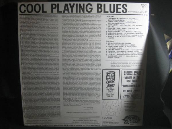 V.A / COOL PLAYING BLUES ◆V909NO◆LP_画像2