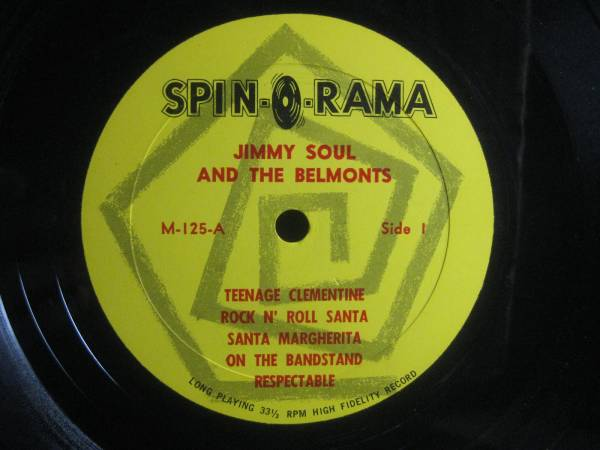 JIMMY SOUL AND THE BELMONTS / WITH CHARLIE FRANCIS◆V912_画像3