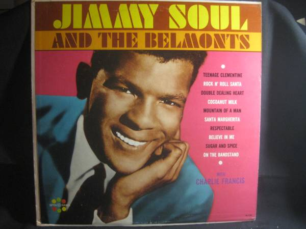 JIMMY SOUL AND THE BELMONTS / WITH CHARLIE FRANCIS◆V912_画像1