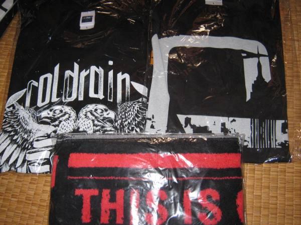 ●coldrain ツアーTシャツ サイズL 2枚+タオル 新品セット●
