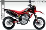 2012-2016 CRF250L CRF250M グラフィック デカール キット 15