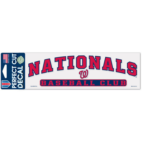 【パーフェクトカットデカール】MLB★ワシントン・ナショナルズ グッズの画像