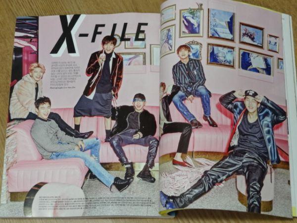 最新◆MONSTA X ◆韓国雑誌 2017年1月号 特集8P