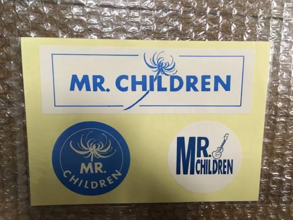 Mr.Children デビュー前 貴重ステッカー 新品未開封