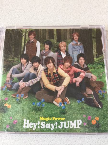 Magic Power 初回限定盤2 CD+DVD Hey!Say!JUMP