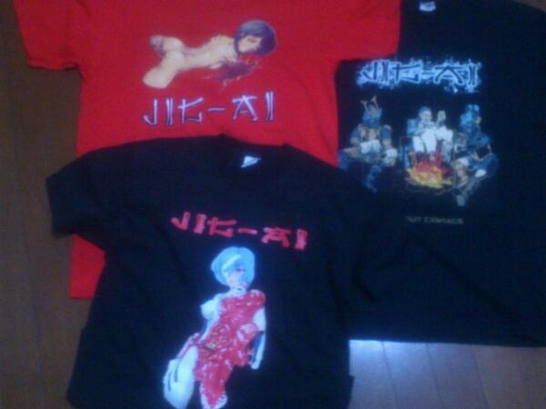 JIG-AI Tシャツ GO-ZEN ゴアグラインド