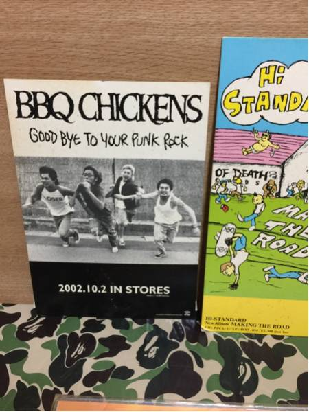 レア BBQ CHICKENS GOOD BYE TO YOUR PUNK ROCK 宣伝POP 非売品
