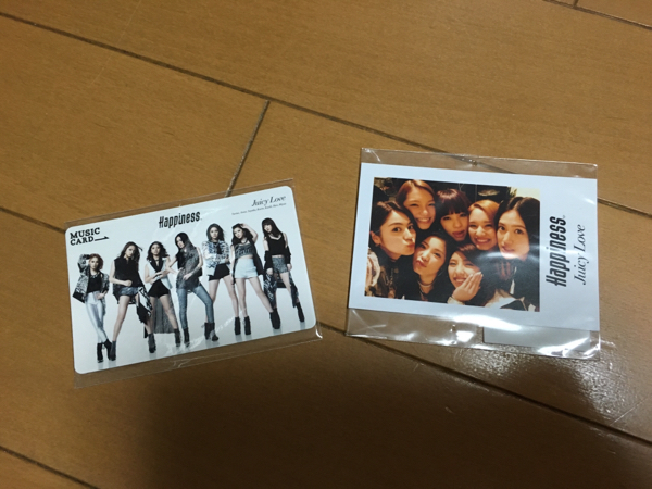 E-girls Happiness 全員 チェキ+カード YURINOSAYAKA夏恋楓璃