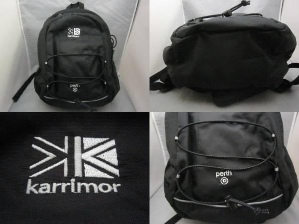 美品【karrimor カリマー】リュック デイバッグ 黒 US1419J_画像2