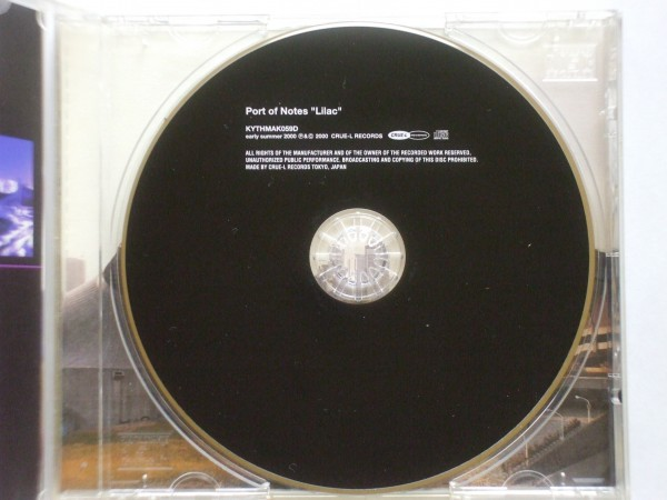 ●CDs●Port Of Notes / Lilac●2,500円以上の落札で送料無料!!_画像3