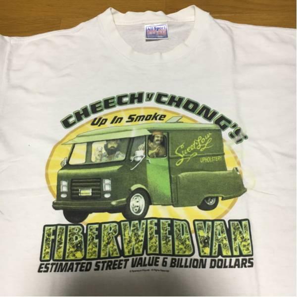 cheech&chong チーチョン ビンテージ Tシャツ 90's L ローライダー チカーノ ムービー movie ヒッピー
