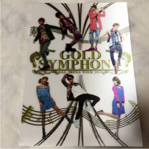 AAA 西島隆弘 パンフレット GOLD SYMPHONY ライブグッズの画像
