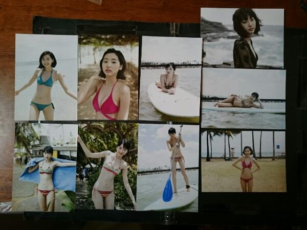 武田玲奈フォト9枚おまとめセット 美品