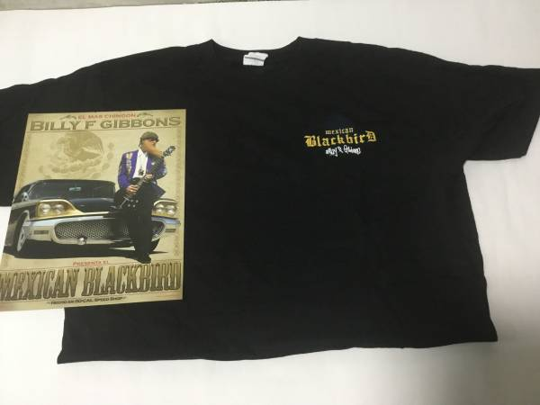 ZZ TOP (BILLY F GIBBONS)限定T-Shirt