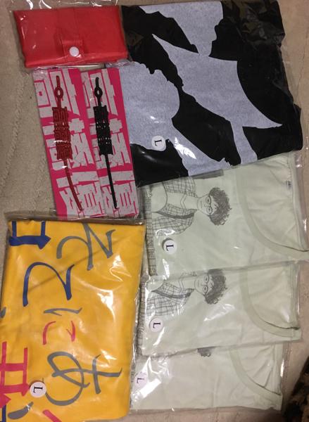 高橋優グッズ LサイズTシャツ5枚 クルチアーニ2個 エコバッグ1個