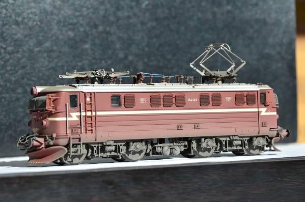 NMJ TOPLINE ノルウェー NSB EL13 電気機関車 風化処理塗装