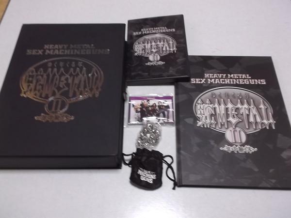 △ セックスマシンガンズ 【 蛇METAL Ⅱ FC限定DVD-BOX 】