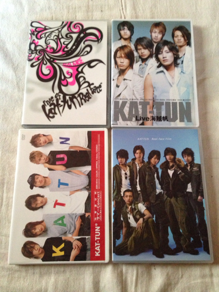 KAT-TUN DVD 4枚セット real face live海賊帆 real face film