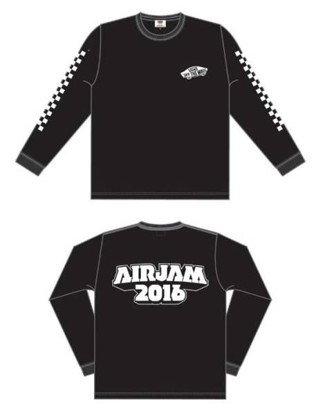 S即airjam 2016 vansTシャツPIZZA OF DEATHハイスタmwam wanima
