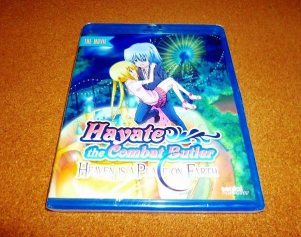 新品BD【ハヤテのごとく! HEAVEN IS A PLACE ON EARTH】劇場版!北米版ブルーレイ_画像1
