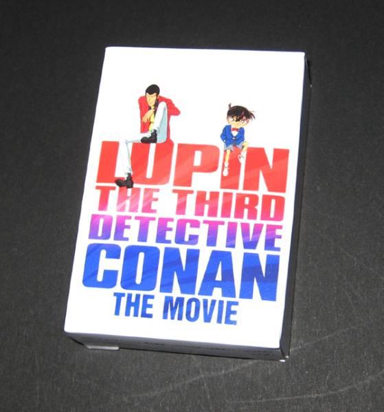 ルパン三世VS名探偵コナン THE MOVIE 特典トランプ 非売品