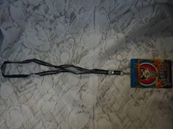 USED ネックホルダー PENICILLIN 千聖 CHISATO CYBER SOUL PAVILION プラカード付き