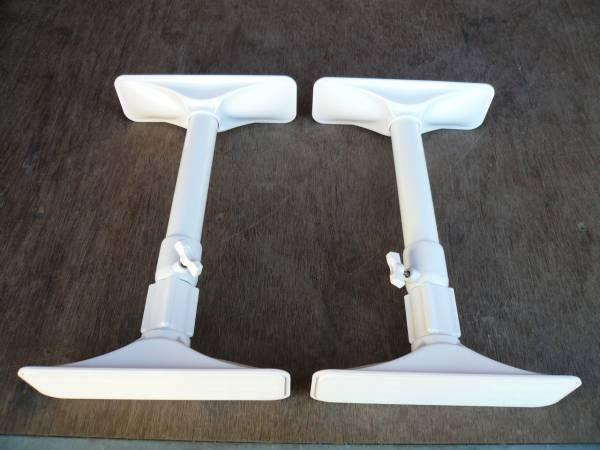 家具転倒防止用 突っ張り棒 地震対策 耐震 つっぱり棒 2本 2