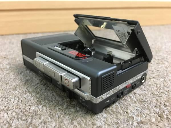 《054》SONY M-88 マイクロカセットレコーダー ジャンク♪レア?_画像2