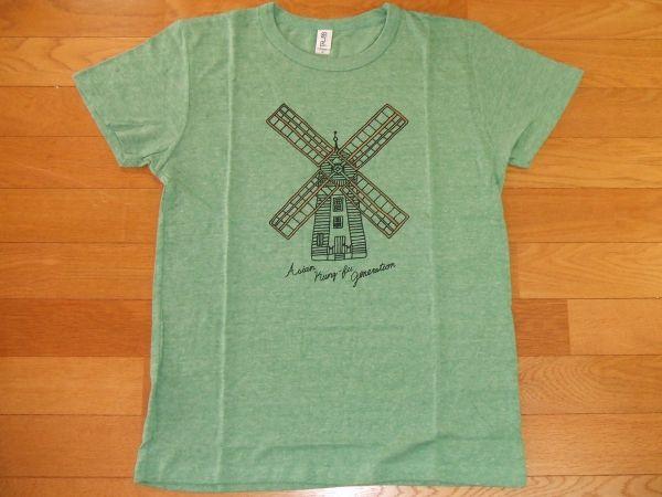 アジカン ASIAN KUNG-FU GENERATION Tシャツ SIZE:M 緑