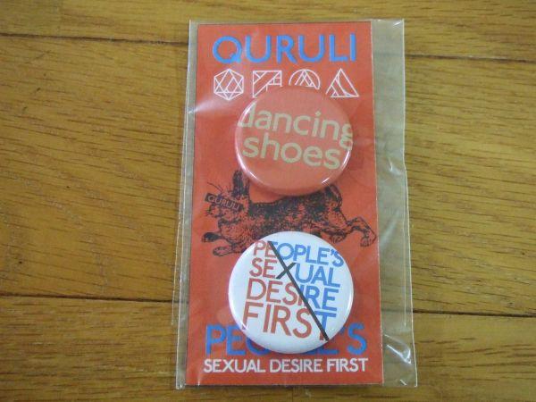 くるり 缶バッジ 2012 people's sexual desire first 送180円~