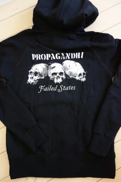 Propagandhi zip-Hood/NOFX lagwagon FAT Adhesive belvedere