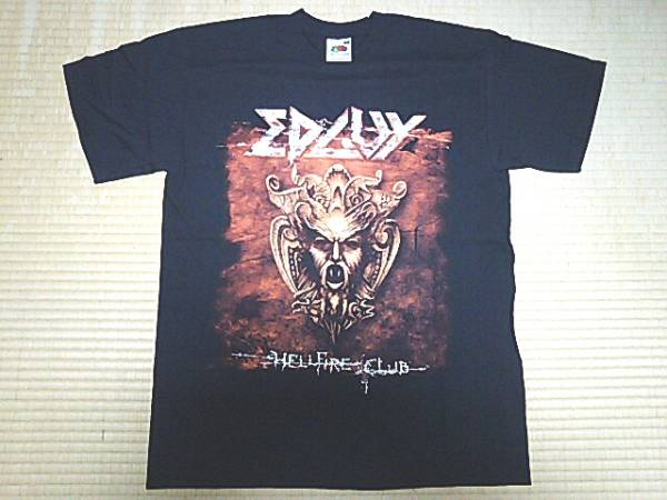 EDGUYエドガイ/Worldwide Hellfire Tour 2004/Tシャツ/黒/M