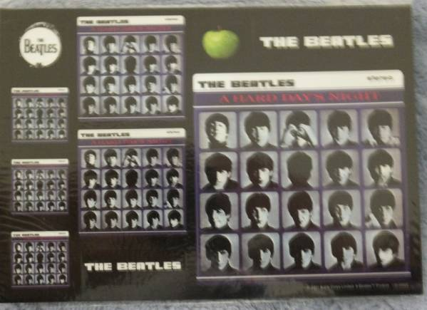 The Beatles 「A Hard Days Night」シールステッカー