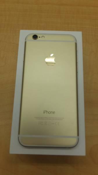 ☆13051 美品 Softbank iphone6 64GB ゴールド_画像1