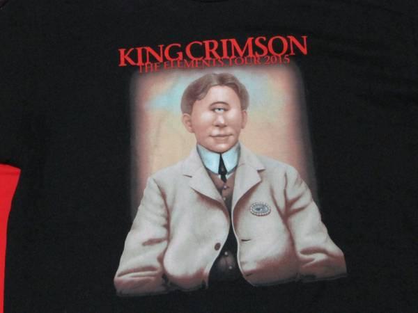★King Crimson キング・クリムゾン ジャパン ツアーTシャツ★