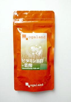 残り4個★ビタミンB群+葉酸サプリ(約3ヶ月分)★オーガランド/サプリメント