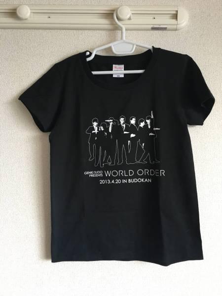 即決 world order tシャツ 須藤元気 ワールドオーダー