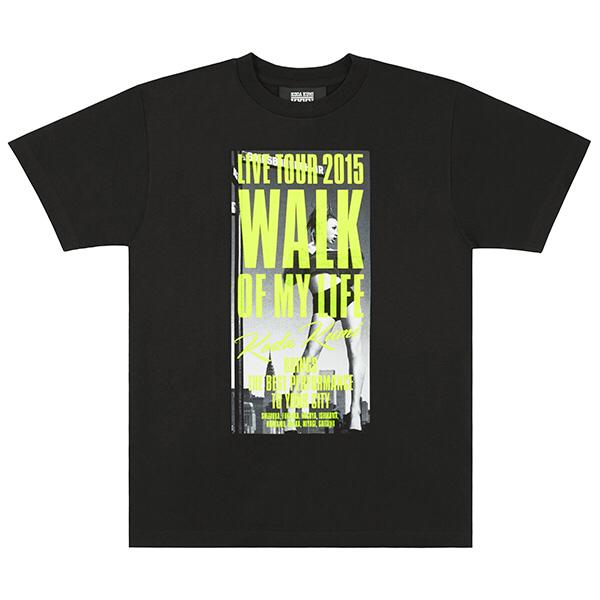 【新品即決】倖田來未 2015 Tシャツ XL グッズ WALK LIVE ライブグッズの画像